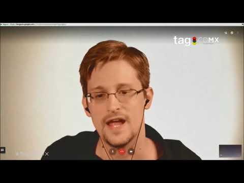 Esto dijo Snowden del #GobiernoEspía