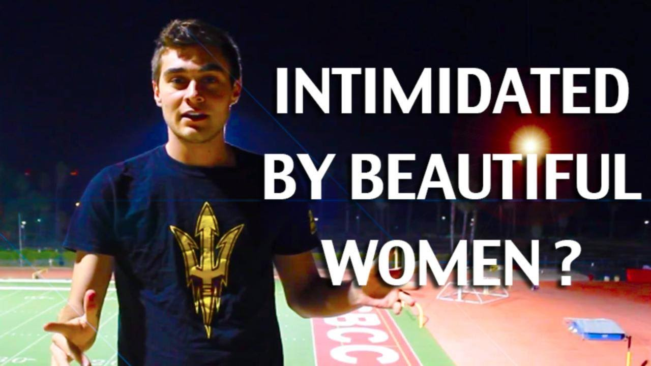 intimidated by women