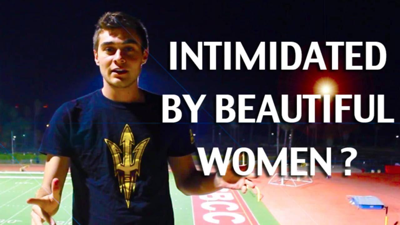Do beautiful women intimidate men