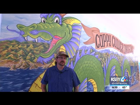 New mural at Cappy Culver Elementary School