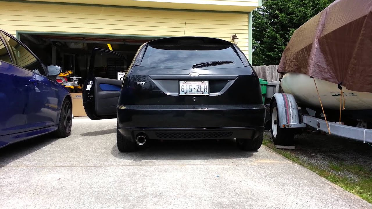 2002 Ford Focus Svt With Magnaflow Exhaust Youtube