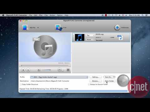Bigasoft FLAC Converter - Convert audio and video to/from  FLAC - Download Video Previews