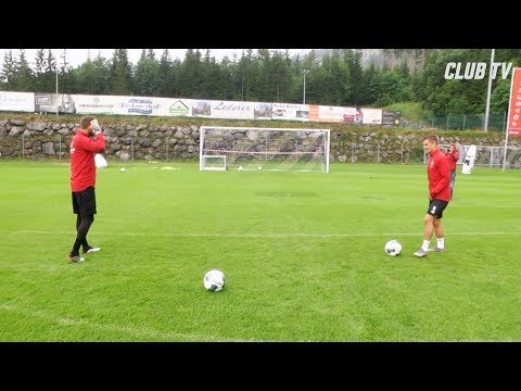 Zimmerduell: Volley-Challenge | Trainingslager | 1. FC Nürnberg