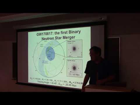 CITA 810: The Multi-Messenger Picture of a Neutron Star Merger