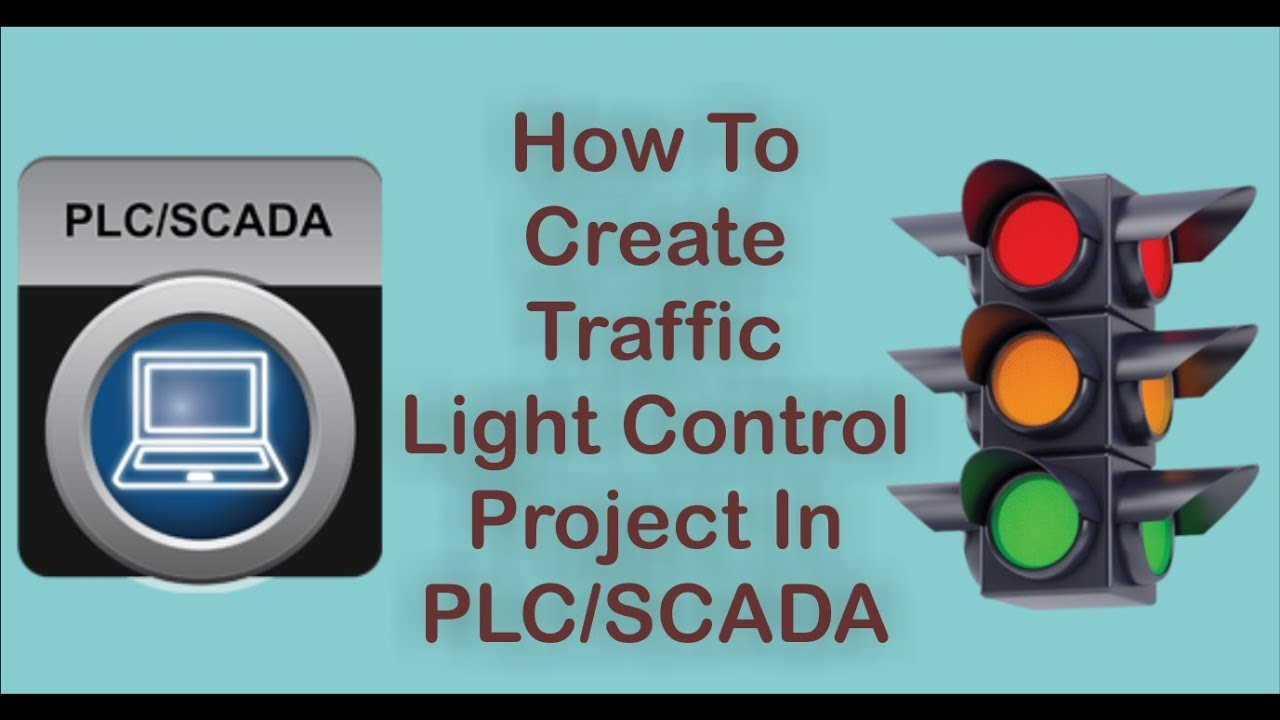 How To Make Traffic Light - Traffic Light Control PLC Programming