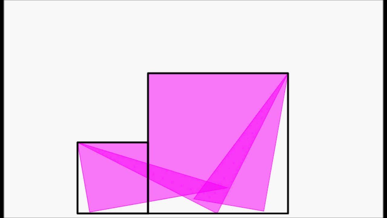 Pythagorean Theorem Visual Proof 4