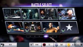 Injustice Gods Among us  ios - How to earn credits fast