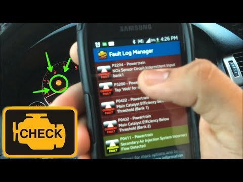 How to Clear/ Reset Check Engine Light with Smartphone!!! -Torque Pro