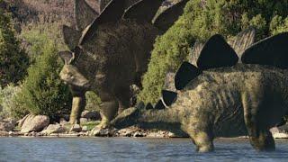 Dinosaurier - Die Pflanzenfresser schlagen zurück (Doku 2015)