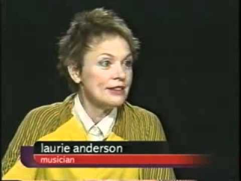 Laurie Anderson Interviewed by Charlie Rose (2004) - Part One