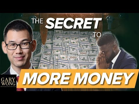The Secret To Getting The Money