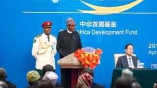 President Muhammadu Buhari Addresses China-Nigeria Business Forum