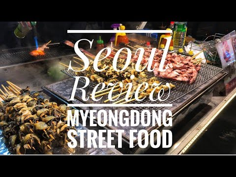Seoul Review - street food and morning market breakfast in Korea!