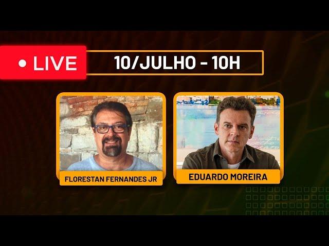 Live com Florestan Fernandes Jr - 10/julho às 10h