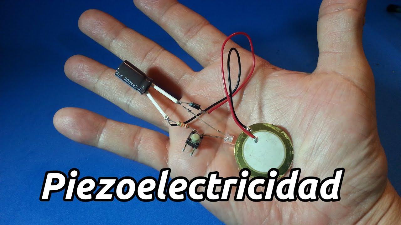 Circuito Zumbador Piezoelectrico : Generador de energía piezoeléctrico youtube