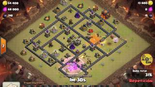 Clash Of Clans - ILOGIK ThE BeSt MoDDeR - TH9 - QW + Mix Attack