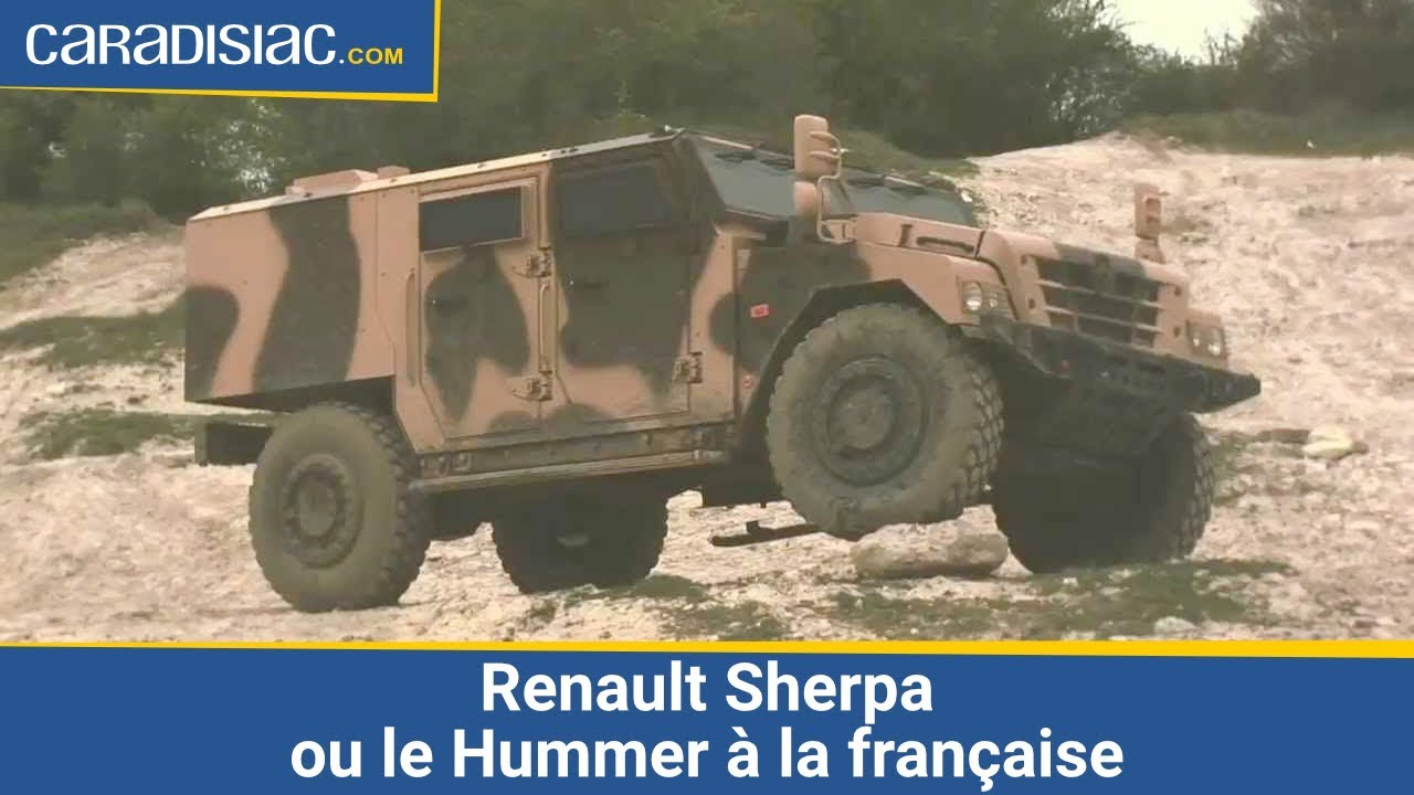 Le garage des monstres renault sherpa ou le hummer la for Garage de 4x4