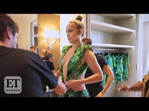 Jennifer Lopez Talks Versace Dress Revival