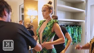 Jennifer Lopez Talks Versace Dress Revival