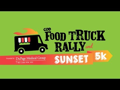 College of DuPage - Food Truck Rally & Sunset 5K 2018