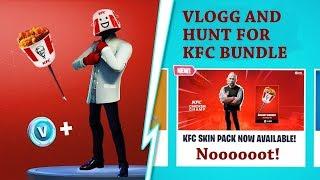 La chasse à la peau fortnite KFC (Vlogg 4)