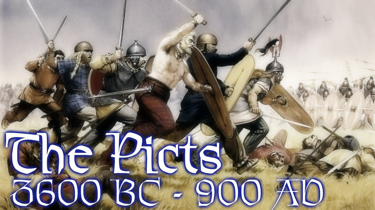 Pict Tribe Of Scotland: The Picts: Historical Timeline [3600 BC