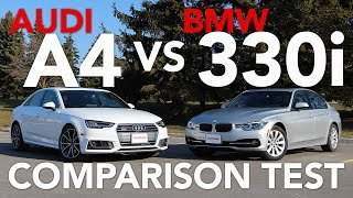 2017 Audi A4 vs BMW 3 Series Comparison