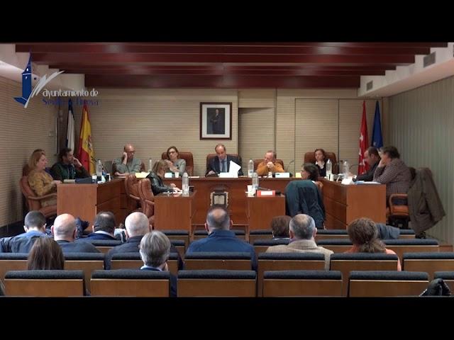 Pleno Ordinario del 7 de febrero de 2019 en Sevilla la Nueva