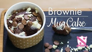 Brownie Mug Cake Recipe - In The Kitchen With Kate