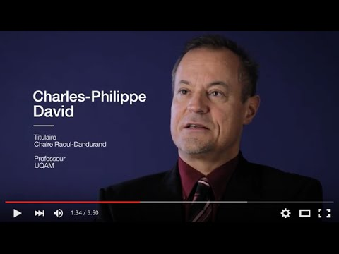 Chaire Raoul-Dandurand: Votre regard sur le monde depuis 20 ans