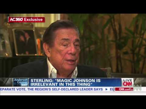 Donald Sterling (When he had those AIDS)  Magic Johnson