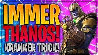 💪🏻🌈 SO WIRST DU IMMER THANOS! Mit diesem Trick immer Thanos spielen!   Fortnite