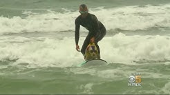 World Dog Surfing Contest Gets Underway In Pacifica
