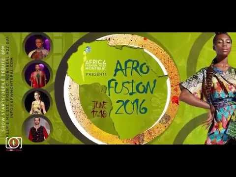 Africa Fashion Week Montreal 2016
