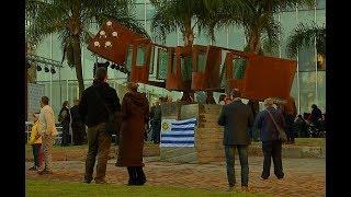 Montevideo inaugura plaza en honor a Gerardo Matos Rodríguez