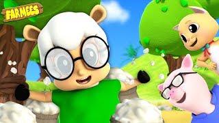 Ba Ba Black Sheep| Kindergarten Nursery Rhymes and Kids Song | Videos for Children | Farm Animals