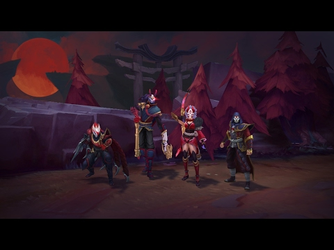 The Hunt of the Blood Moon   Blood Moon 2017 Trailer   League of Legends