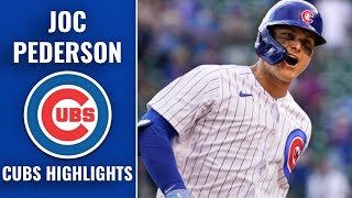 Joc Pederson Cubs Highlights