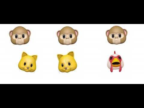 I Just Can't Wait To Be King - Simba , Nala, and Zazu (Animoji Karaoke 4K)