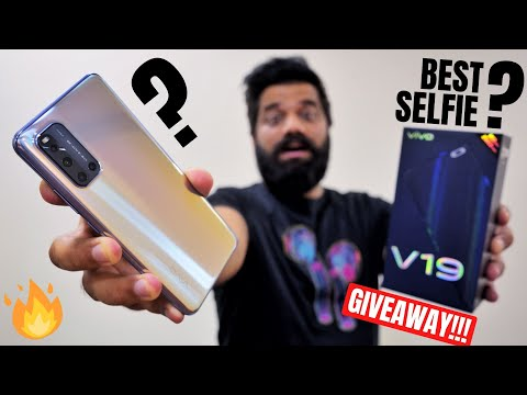 vivo V19 Unboxing & First Look - Perfect 32MP Dual Selfie Camera??? Giveaway