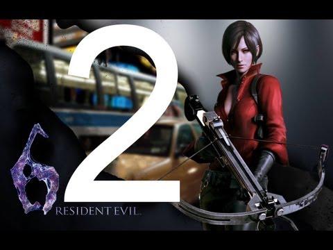 Прохождение Resident Evil 6 PC - Компания Ада Вонг - Глава 2