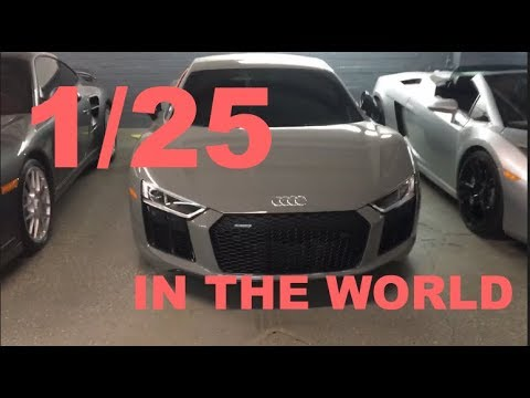 AUDI R8 1/25 IN THE WORLD! - specialized deals SLC - vlog
