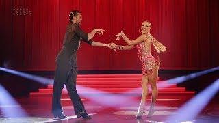 Pavel Zvychaynyy - Oxana Lebedew | Welttanz-Gala Baden Baden 2017 - Chacha Show