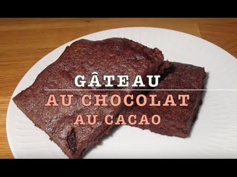 Gâteau au chocolat au cacao - Recette #75