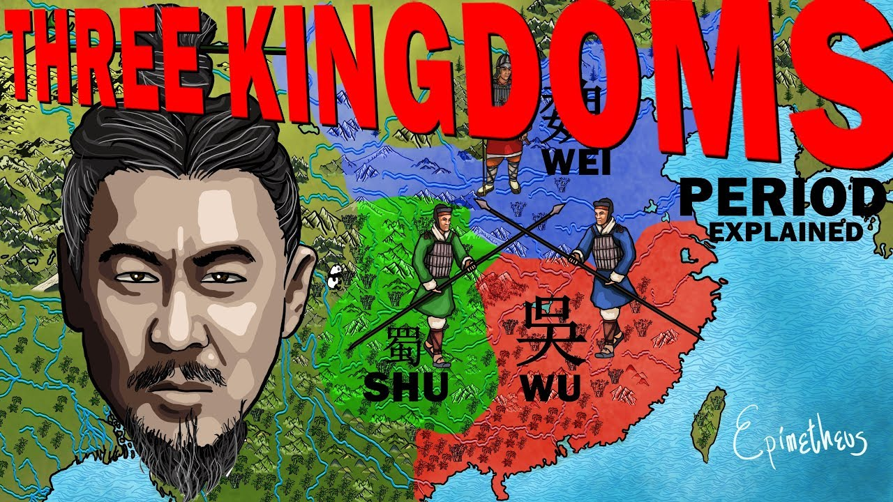 The Three Kingdoms Period Explained In 4 Minutes Chinese History Youtube