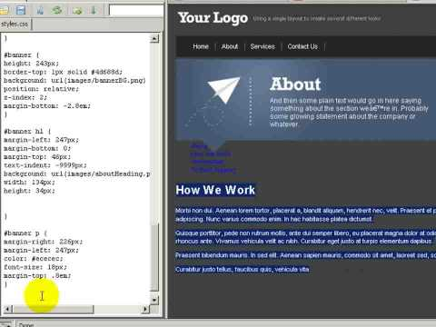 From PSD To HTML