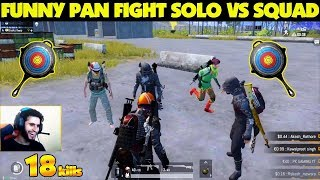 BRUCE LEE of pan fight is Rowdy | Pubg mobile solo vs squads Funny Highlights
