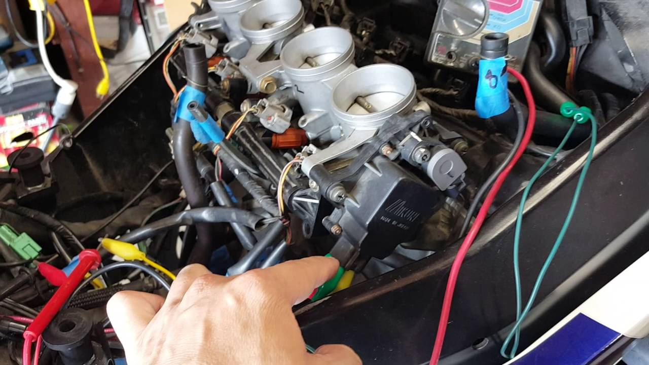 DIY Suzuki GSXR 750 04,05,1000 STVA Troubleshoot and Testing According to  The Service Manuel