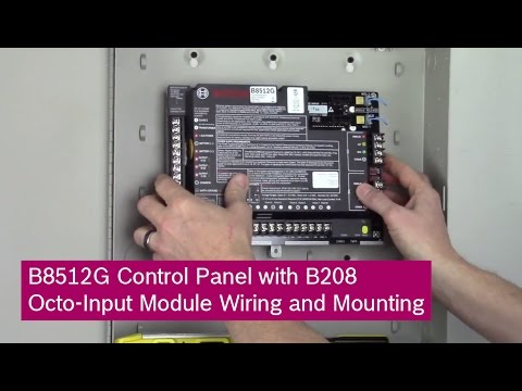 hh84aa020 circuit control board wiring diagram bosch b8512g control panel with b208 octo-input module ... bosch control board wiring #12