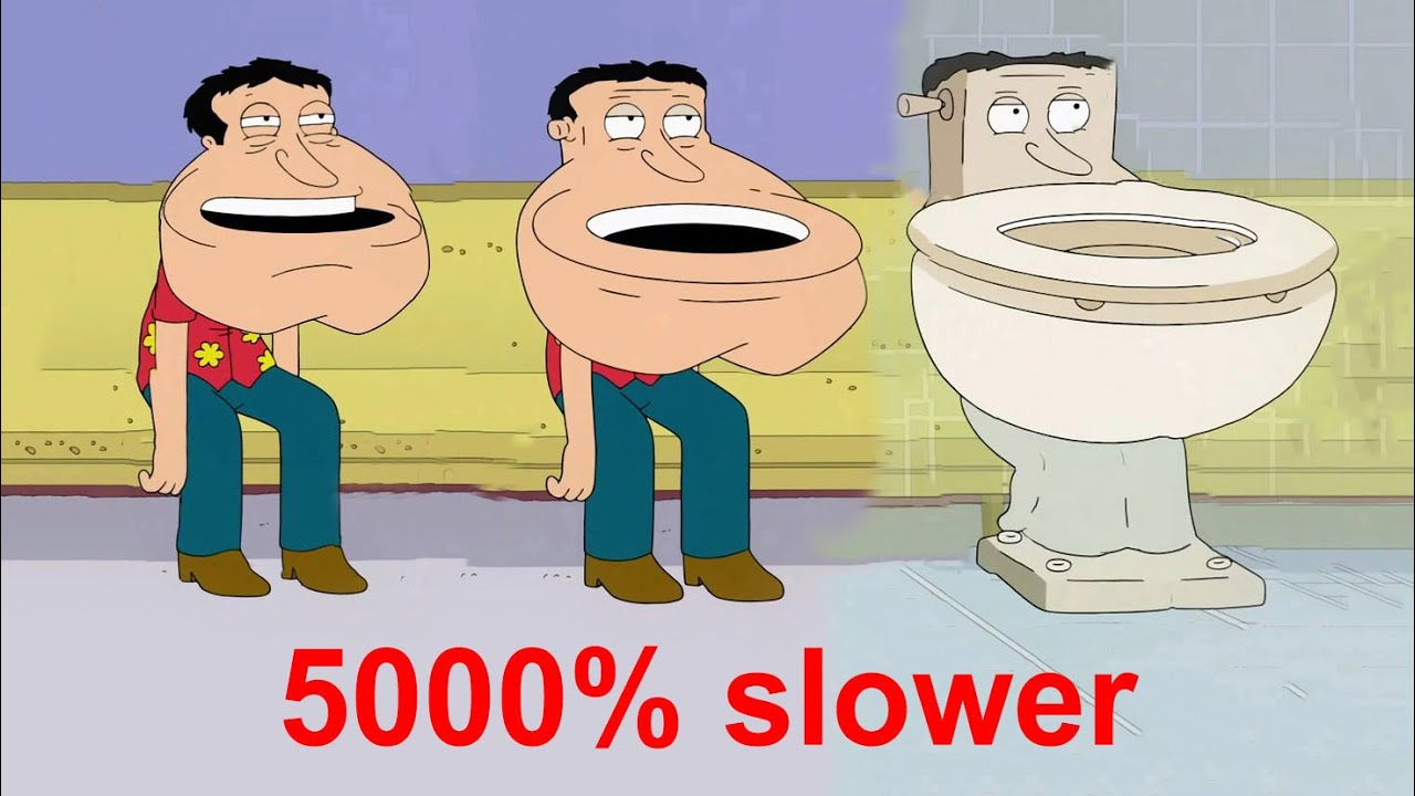Family Guy Quagmire Turns Into A Toilet 5000 Slower Youtube Notable for his prodigious libido, he is voiced by seth macfarlane. family guy quagmire turns into a toilet 5000 slower